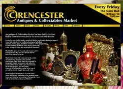 Cirencester Antiques Market | Weekly Friday Friday Market | by CMC Graphics